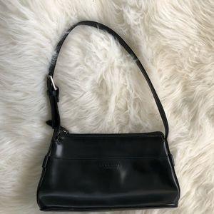 Kenneth Cole 90's vintage black leather bag